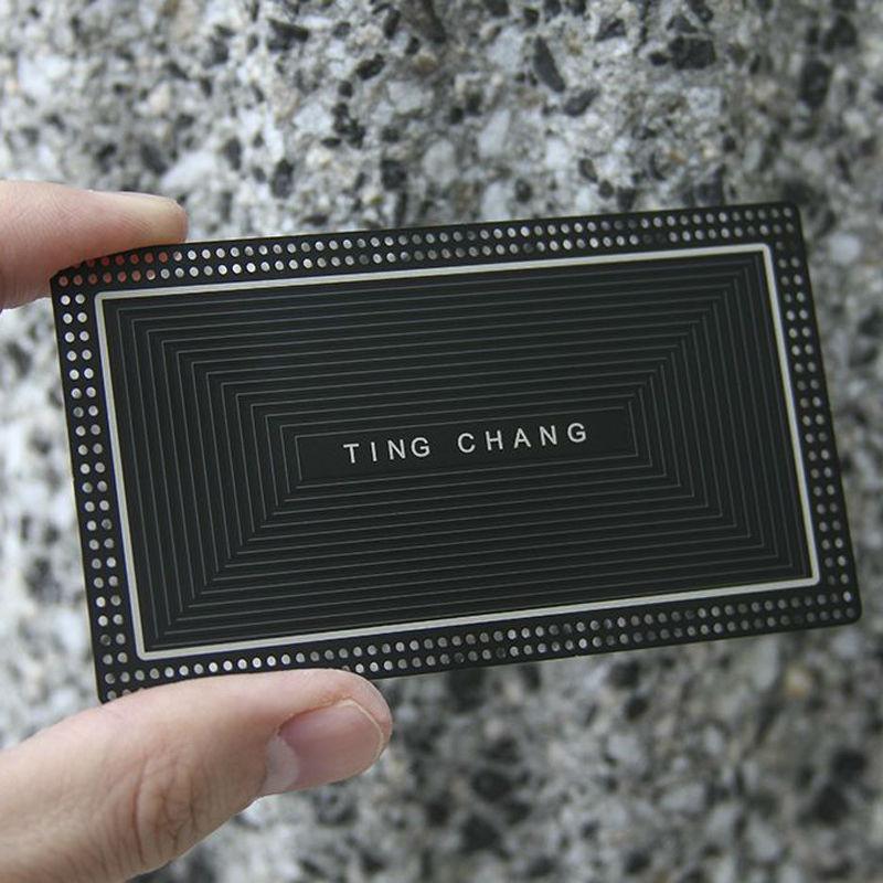 Metal Business Card Creative Hollow Stainless Steel Business Card Metal Membership Card High-end Business Card Design Custom