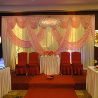 wedding backdrops for wedding decoration 3 m x 6 m event party decoration pink wedding drapery curtain