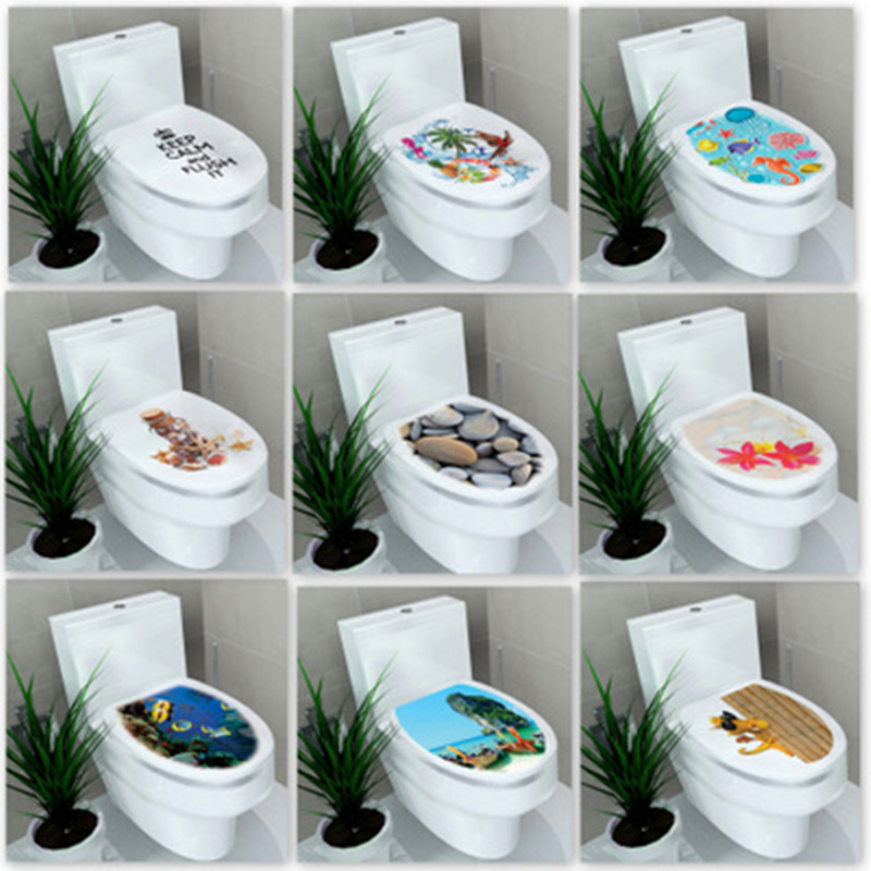 Zs Sticker 34* 46 Cm Sticker Wc Cover Toilet Pedestal Toilets Stool Toilet Lid Sticker Wc Home Decoration Bathroom Accessories Customers First Home & Garden