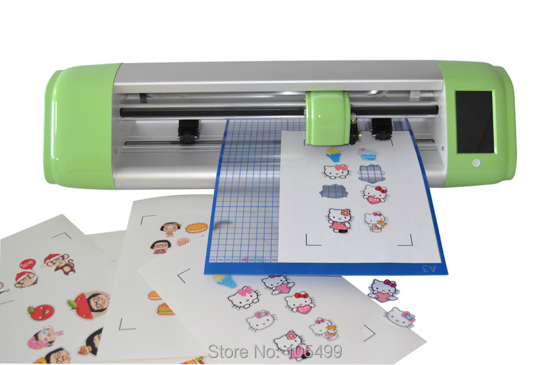 HOT SALE 15 inch Smart cutting plotter have camera Easy to operate Automatically by camera Automatically