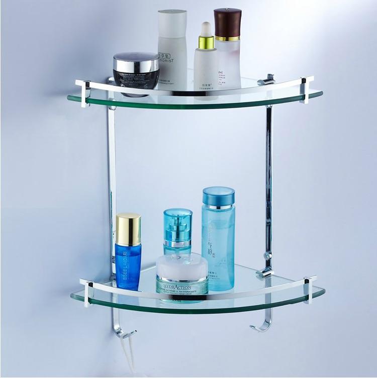 Compare prices on glass bathroom corner shelf online for Bathroom accessories karachi