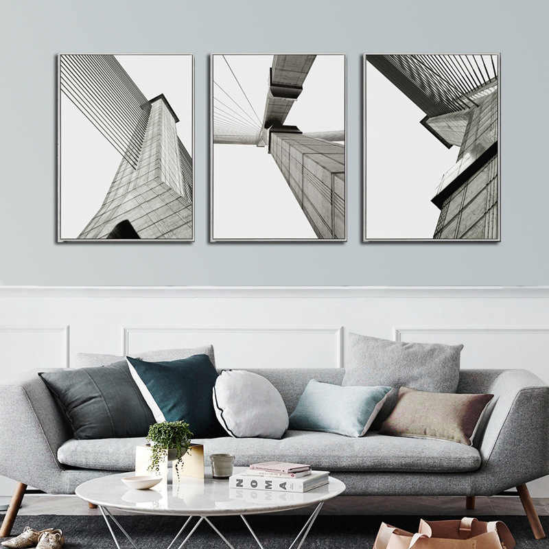 Super Looking Up At The Modern Minimalist Art Poster Style Living Room Mural Building Sofa Background Industrial Model Canvas Painting Gmtry Best Dining Table And Chair Ideas Images Gmtryco