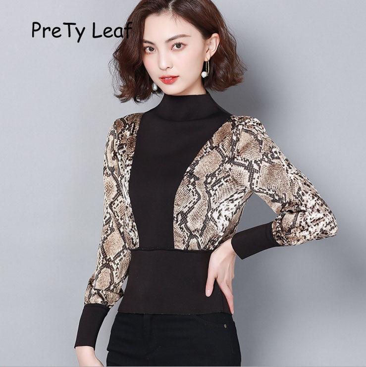 2019 spring leopard shirt