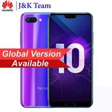 Huawei Onur 10 Küresel Sürüm 4 GB 128 GB SmartPhone NFC Cep Telefonu Android 8.1 5.8