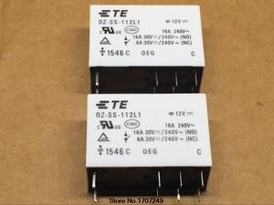 Image 2 - 무료 배송 10 개/몫 100% 새로운 오리지널 oeg 파워 릴레이 OZ SS 112L1 oz ss 112l 12vdc 12 v 16a 8pin