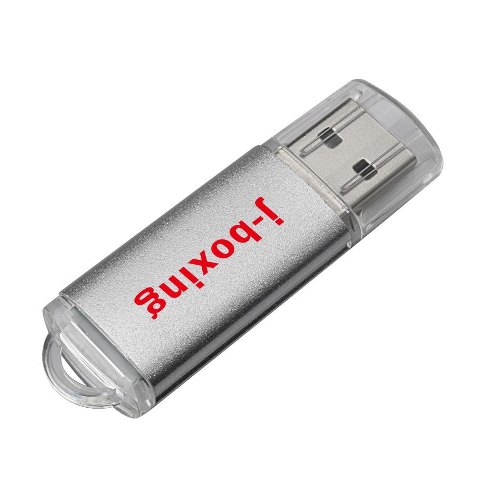 J boxing 100X 64MB 256MB USB Flash Pen Drive Printed Custom logo Rectangle Engraved Personalize font