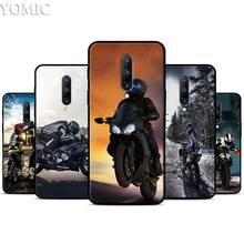 Moto Cross motorcycle sports Silicone Case for Oneplus 7 7Pro 5T 6 6T Black Soft Case for Oneplus 7 7 Pro TPU Phone Cover