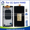 For LG Spirit H440 H442 H420 H440N C70 H422 LCD Display Touch Screen Glass Digitizer Assembly Replacement with Frame+Tools