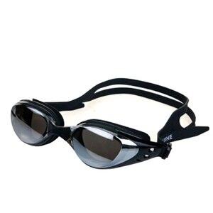 Mirrored Swim Goggles Silicone Seal Swimming Goggles Diving Glasses UV Protection Anti-fog Anti-shatter Waterproof Swim
