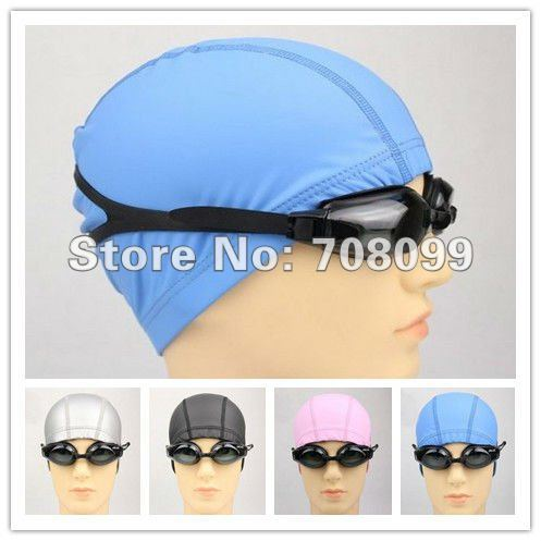 EMS Free Shipping  Wholesales Adult's PU Swimming Cap swim Hat     Hot Sales