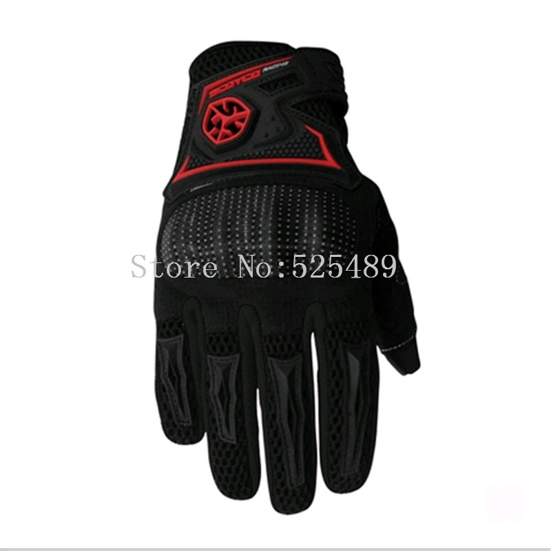 guantes moto Mens Four Seasons Motorcycles Bicycle Drop Anti-skid Casual Riding Gloves Cross Country Racing full finger Gloves