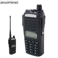 2015 New Black Baofeng UV 82 Ham Two Way Radio Dual Band VHF UHF 137 174