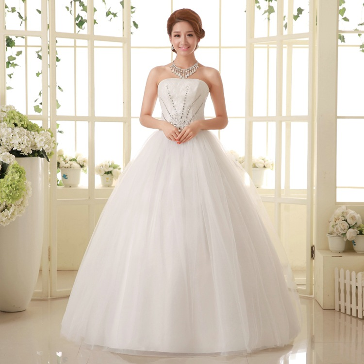 Cheap Price High Quality Luxury Puffy Sweetheart Wedding