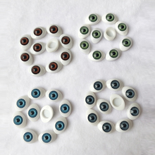 40pcs/20Pairs DIY Plastic BJD Eyes 12mm 14mm 15mm 16mm 19mm 23mm For SD Dolls 1/3 1/4 1/6 Doll Accessories Eyeballs