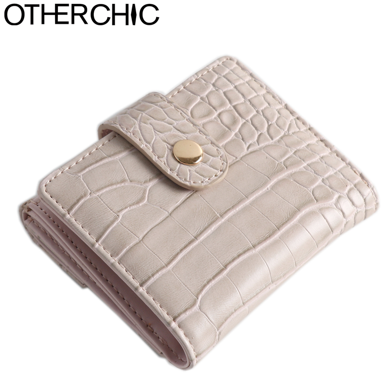 Patent Leather Women Short Wallets Ladies Fashion Small Alligator Wallet Coin Purse Female Card Wallet Purse Money Bag Y-7N06-01