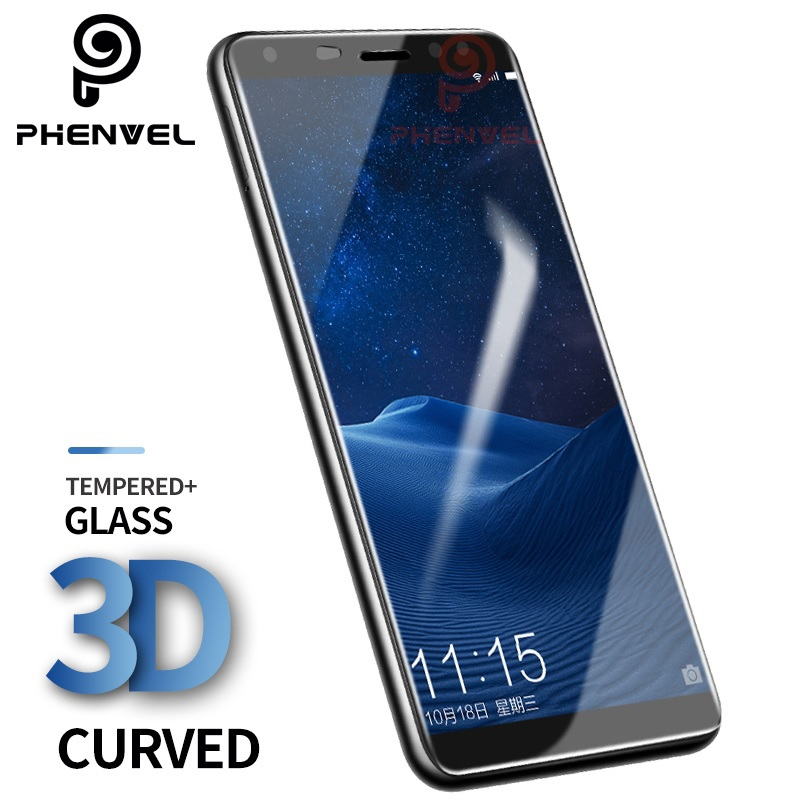 3D Curved Tempered Glass For Huawei Nova 2i Screen Protector for huawei Mate 10 lite mate10 pro arc-edge protective film
