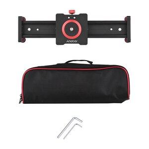 Image 5 - Стабилизатор для камеры Andoer, Рельс из алюминиевого сплава для DSLR камеры, аксессуары для фотографии, 30/40/50 см