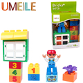 UMEILE Original Duplo New Number Classic Window Radio Flower Boy Kids Figure Building Bolck Toys Compatible With Legoe Duplo