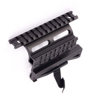 Hunting Tactical Picatinny Weaver AK Serie Rail Side Mount Quick QD 20mm Detach Double Side AK