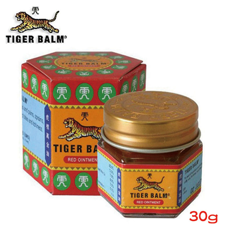 30g Original Tiger Balm Red Super Extra Strength Pain Relieving Ointment Cream цена