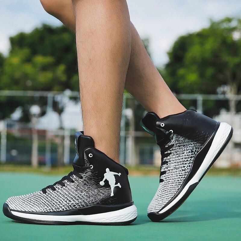 Tênis de Basquete Retro dos Homens Jordan Sapatos