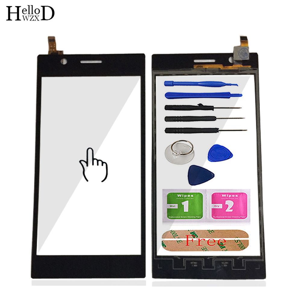 US $9 93 40% OFF|5 5inch For Lenovo K900 Touch Screen Glass Digitizer Panel  Front Glass Lens Sensor Flex Tools Adhesive + Screen Protector Gift-in