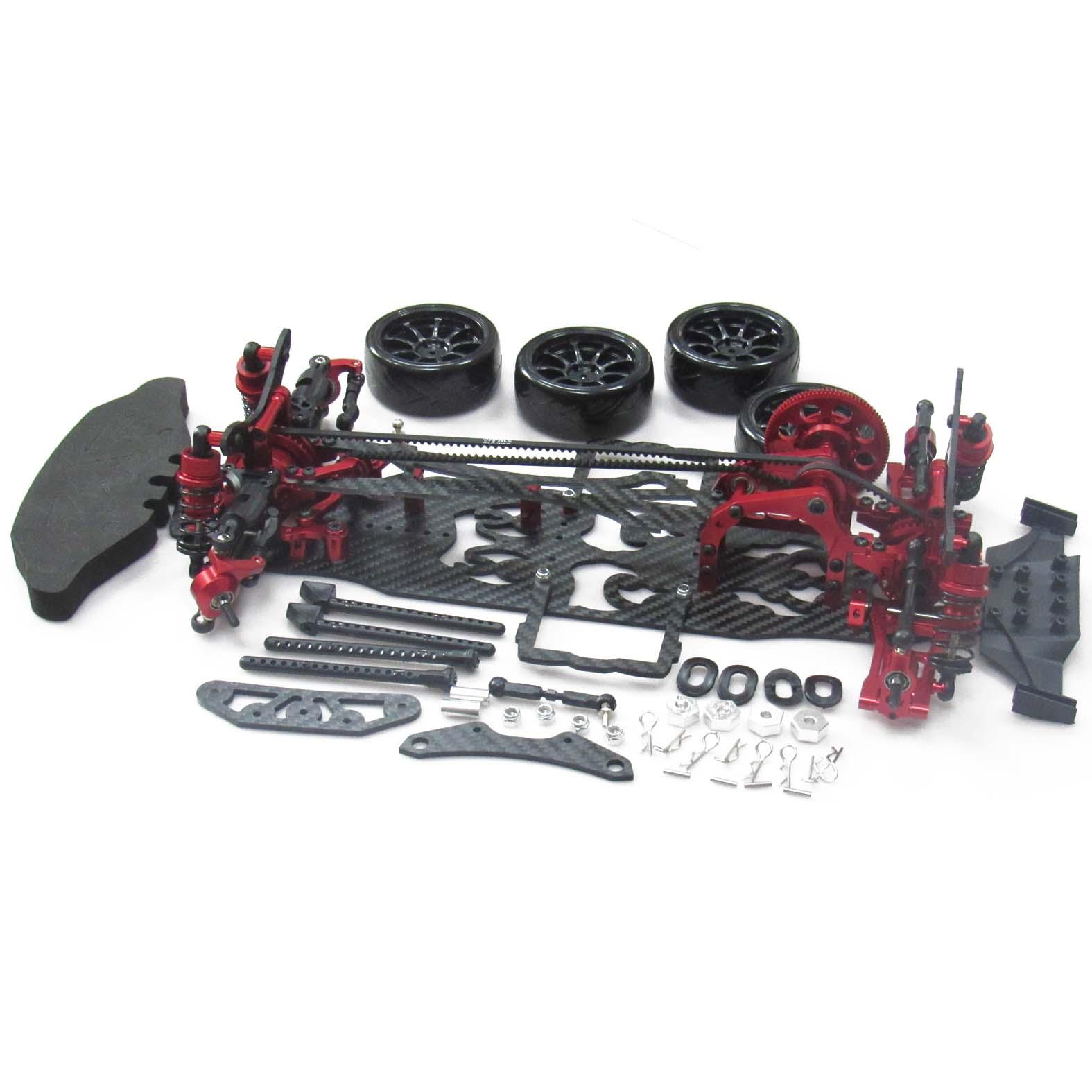Alliage /& Carbone 1//10 SAKURA D3 Drift Racing Cadre /& SKYRC LEOPARD ESC Motor Combo Radio Control