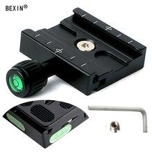 BEXIN камера Зажим Штатив зажим быстросъемный зажим шаровая Головка RRS совместимый адаптер держатель кронштейн для Arca dslr камеры