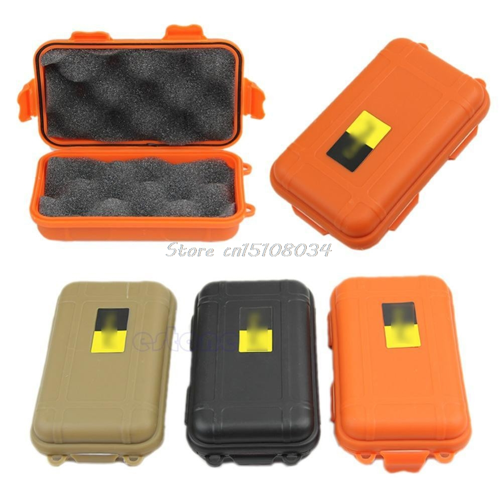 Outdoor Plastic Waterproof Airtight Survival Case Container Storage Carry Box Tool Bag Case S08 Wholesale&DropShip