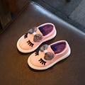 Crianças Sapatos Tênis Meninas Nova Primavera Outono Bonito Arco Moda Princesa Meninas Sapatas Dos Miúdos Macio Único Sapatos Casuais Tamanho 21-30