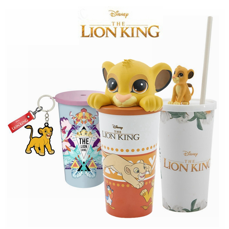 New Movie The Lion King Peripheral Action Simba Sippy Cup Drink Cup Popcorn Bucket Children's Toy Birthday Gifts