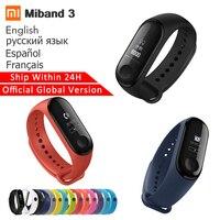 Original Xiaomi Mi band 3 Heart Rate Monitor Bluetooth 4.2 Xaomi Smart Sport Bracelet OLED Miband 3 Smartband Consumer Electronics