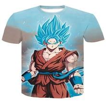 Super Saiyan Goku Printed Tee