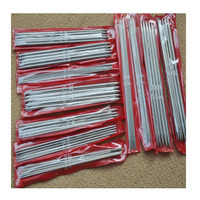 New 11 Sizes 55pcs Stainless Steel Knitting Needles Knitting Pins 20cm