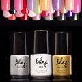 Bling Gel Polish Varnish UV LED Nude Color Series UV Gel Base Top Coat UV Lamp Nail Art Design Long-lasting Nail Gel Lacquer