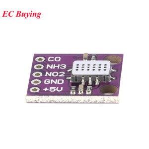 Image 4 - MICS 6814 Air Kwaliteit Gas Sensor Module Gas Detectie Koolmonoxide Co/Stikstofdioxide NO2/Ammoniak NH3 Sensor Voor arduino