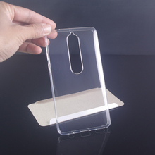 Case for Nokia 6.1 5.1 3.1 2.1 Cases Cover Transparent Silicon Slim Clear Soft Protector 6 2018 Coque Funda Etui Hoesj