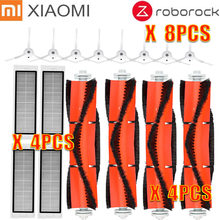 8*side brush + 4*HEPA filter + 4*main brush Suitable for xiaomi vacuum 2 roborock s50 xiaomi roborock Xiaomi Mi Robot