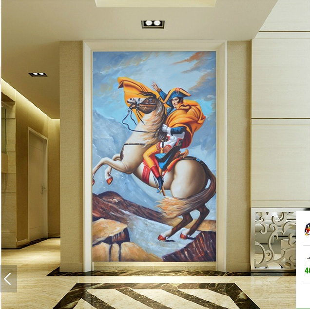 3d wallpaper custom mural non-woven 3d room Wall paper sticker European paintings napoleon porch photo wallpaper for walls 3d