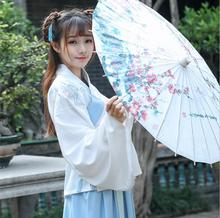 Chinese style improves traditional Hanfu dress embroidered costume Ancient Princess Retro Costume Performance Clothing