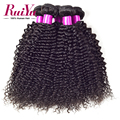 Brazilian Kinky Curly Virgin Hair 3 Bundles, Brazilian Curly Virgin Hair,100% Cheap Human Hair Weave Thick Ends