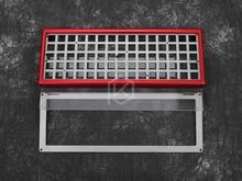 Xd75re анодированный алюминиевый корпус плита наборы для DIY 60% mechancial игровая клавиатура