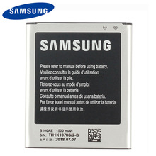 Original Samsung B100AE Battery For SAMSUNG Galaxy Ace 3 Ace 4 S7898 S7278 S7272 S7568i S7270 S7262 i679 i699i G313H 1500mA стоимость