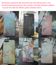Colorful Marble Phone Cases iPhone 6 7 8 Plus X XR XS Max