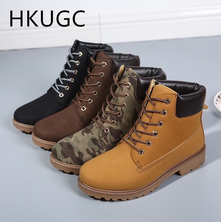 2017 New Men Winter font b Boots b font Fashion Zapatos Mujer font b Ankle b