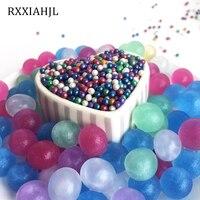 500g/lot 3 3.5mm Crystal Soil Water Beads Mud Growing Water Balls Hydrogel Gel Wedding Home Decor