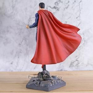 Image 2 - スーパーマンジャスティスリーグアクションモデルおもちゃ鉄スタジオ PVC グッズフィギュア像おもちゃ