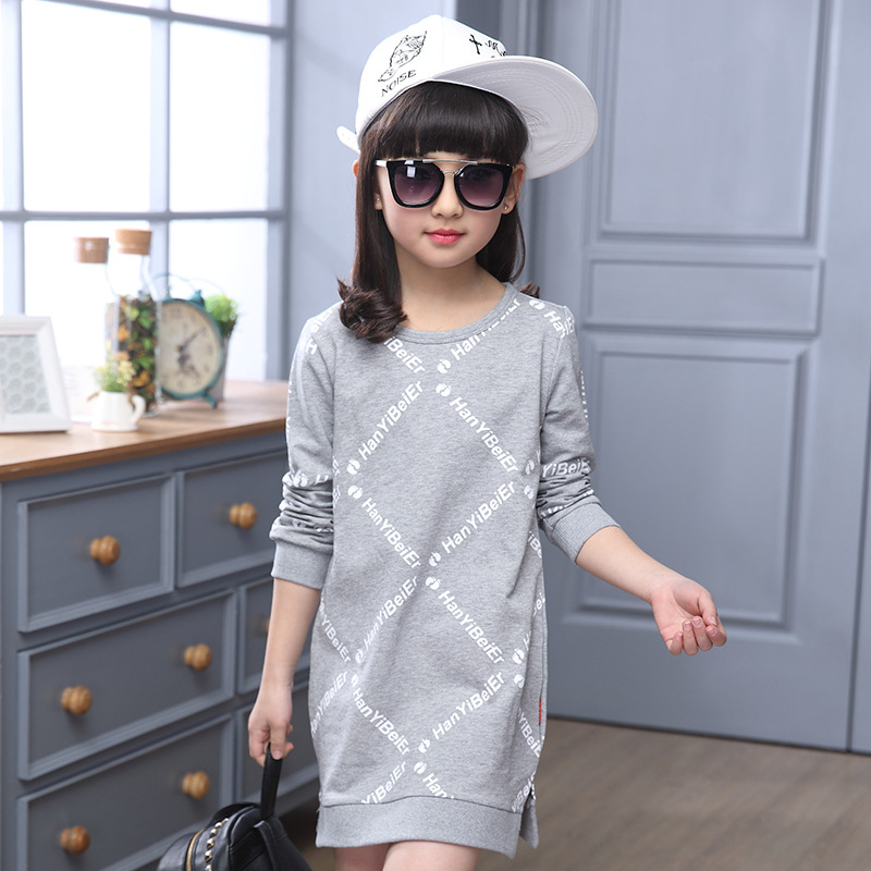 41e5a6b7a New Autumn And Winter Children Dressed In Letter Printed 3 Color ...
