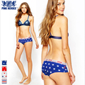 Pink Hero sexy couples panties stars printed cotton underwear women sexy lovers underwear soft breathable lovers panties women