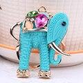 Смола Elephant животное мешок ключ цепь мешок кольцо для ключей валентина подарки